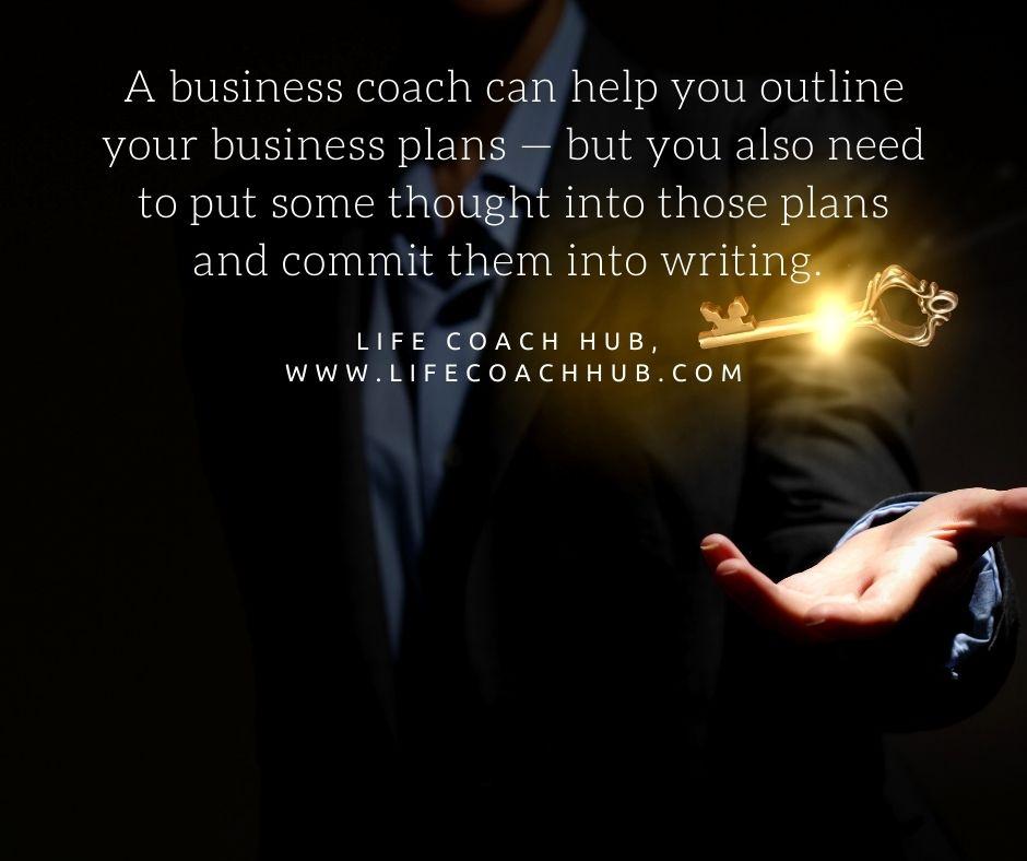 A Business Coach Can Help