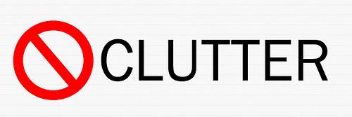 Reducing Clutter reduce clutter - home design