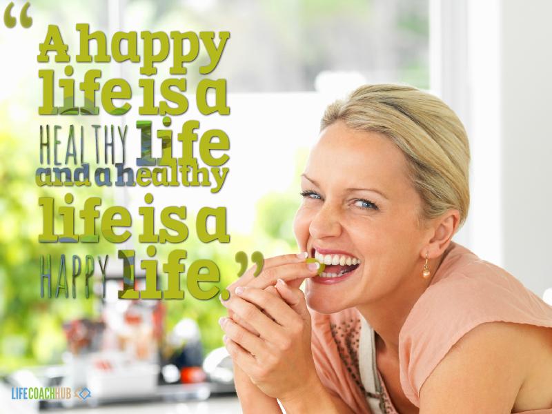 happy healthy life quotes