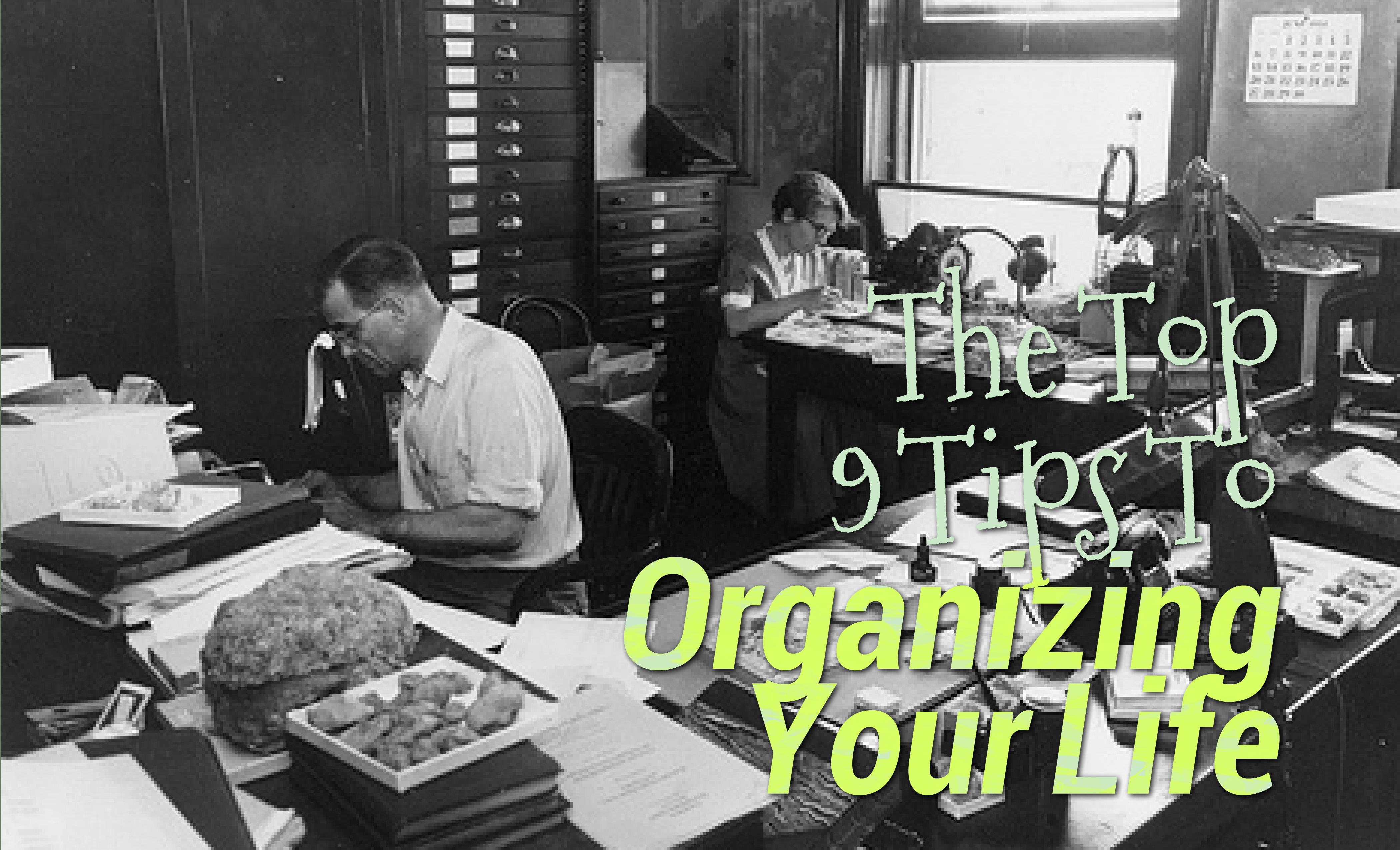 An Organized Desk Will Lead To Higher Levels Of Productivity Throughout The Day Everyone Possesses Some Type Organizational Skills