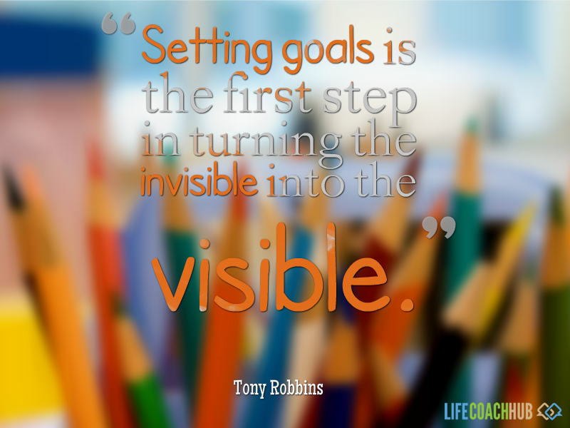how to set goals and achieve them tony robbins
