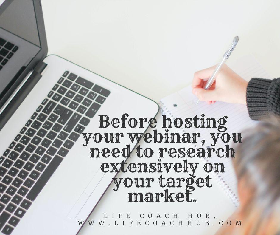 Before Hosting Your Webinar