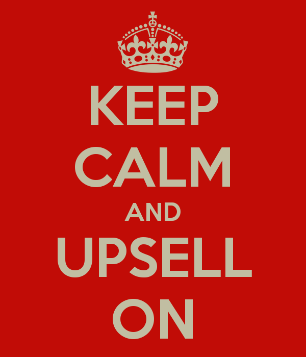 the importance of upselling