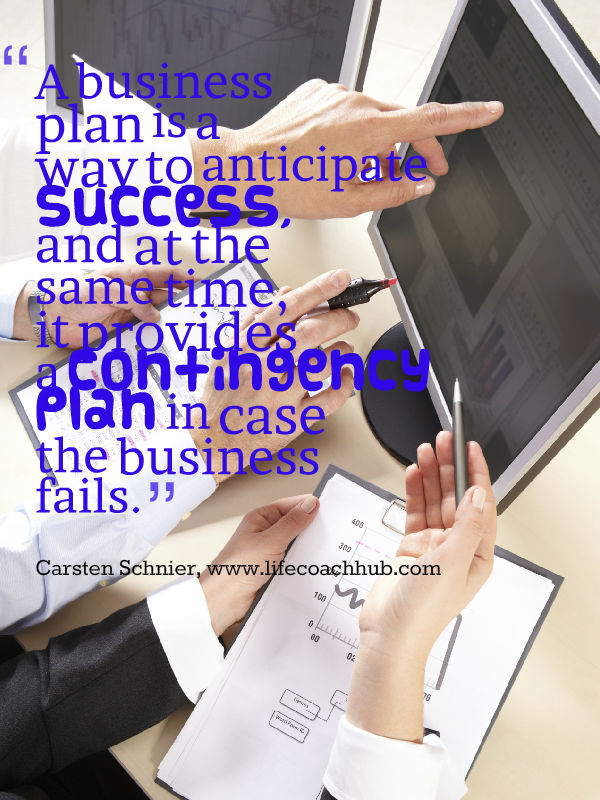 Life Coaching Business Plan