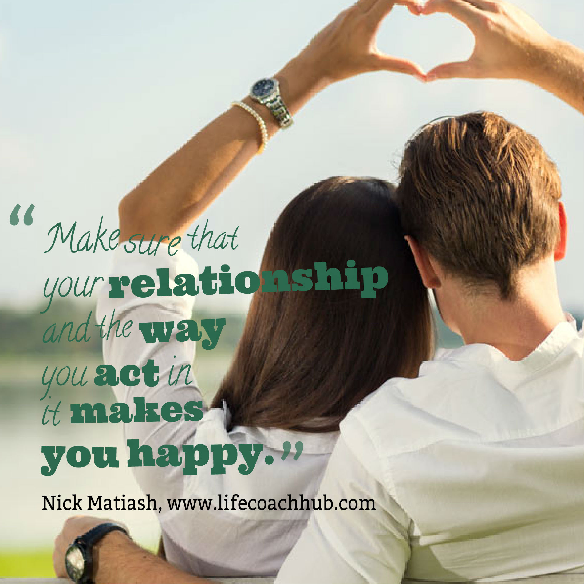 Make Sure That Your Relationship Makes You Happy
