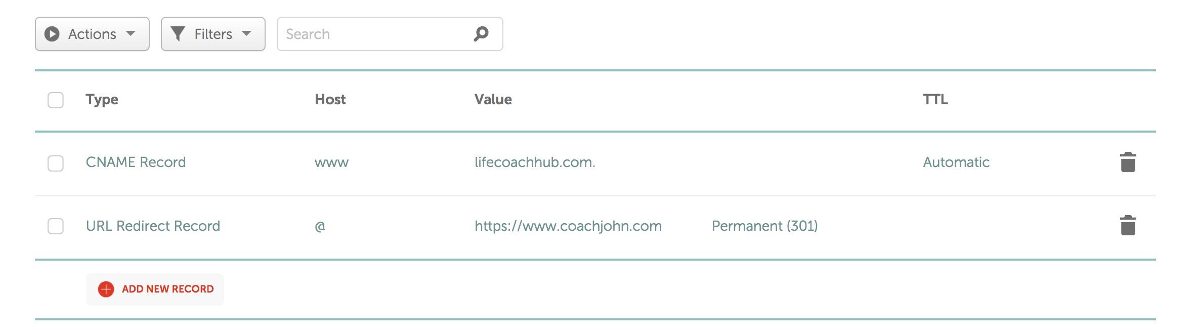 Namecheap domain name setup