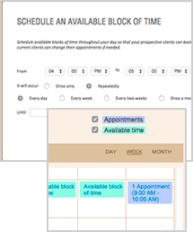 AUTOMATE YOUR AVAILABLE TIME