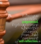 How to Not Be Judgmental: Seven Steps