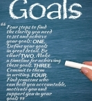 Clarity of Goals: Four Steps